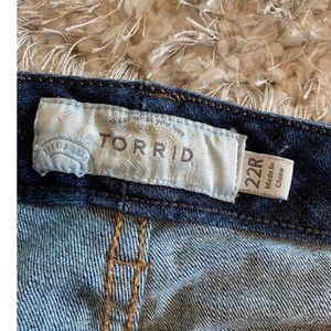 torrid Jeans - Torrid Bootcut Jeans Size 22
